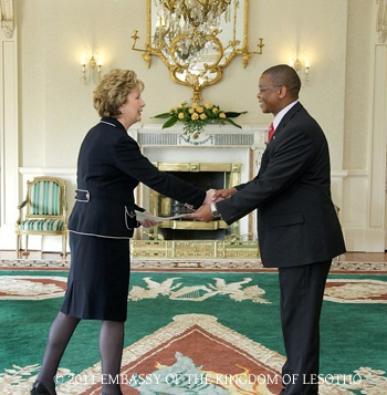 Presentation of Credentials to the President of Ireland